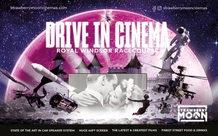 drive in cinema at royal windsor racecourse