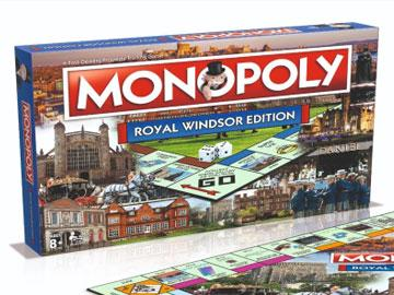 Royal Windsor Monopoly box and board