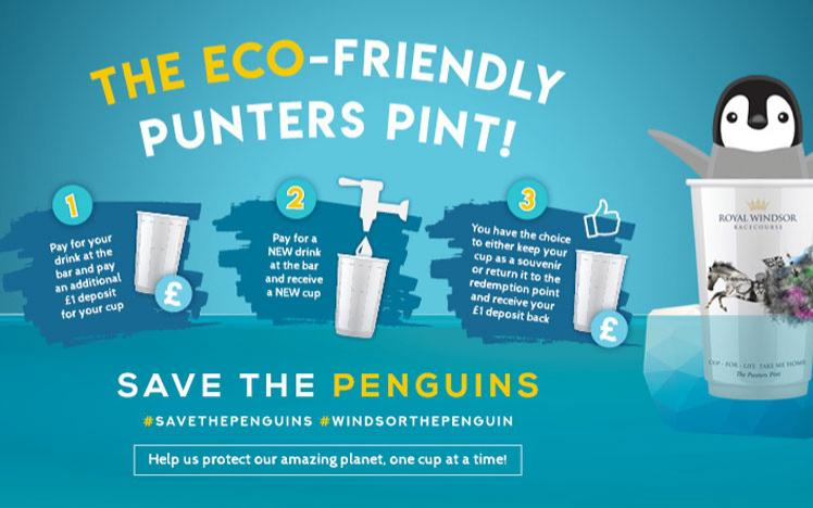 Eco friendly promo, save the penguins