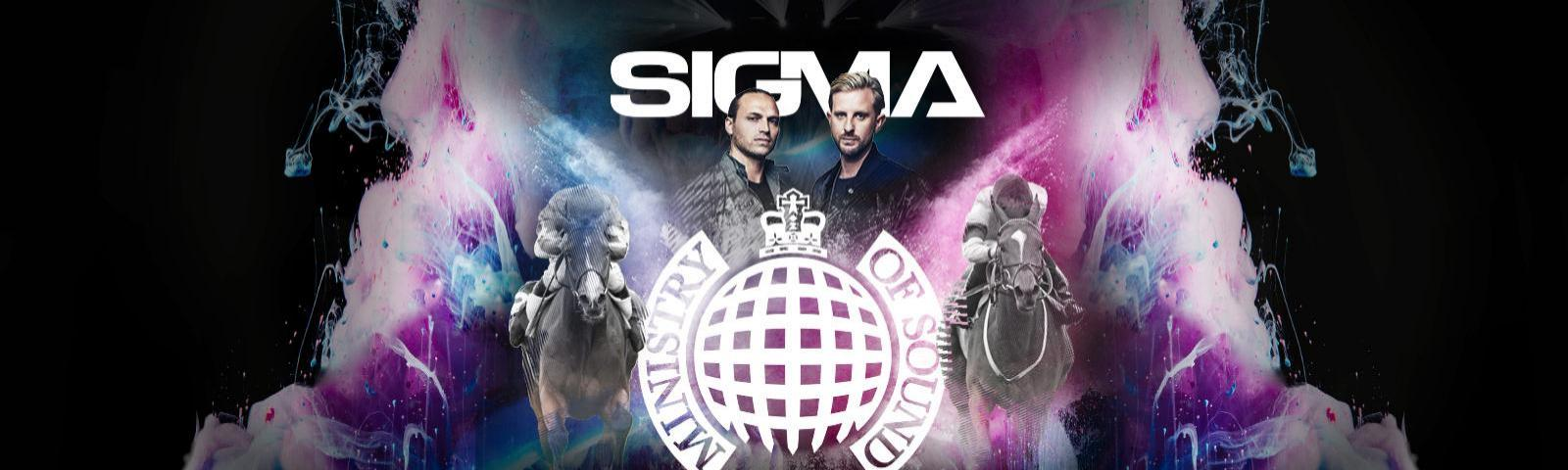 Sigma DJ set live after racing at Royal Windsor Racecourse gentleman's day on 27th June.