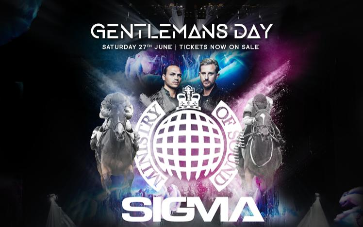 Royal Windsor Racecourse Gentleman's Day SIGMA DJ set announced