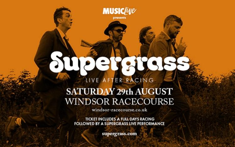 Supergrass Live After Racing at Royal Windsor Racecourse Pre-Sale