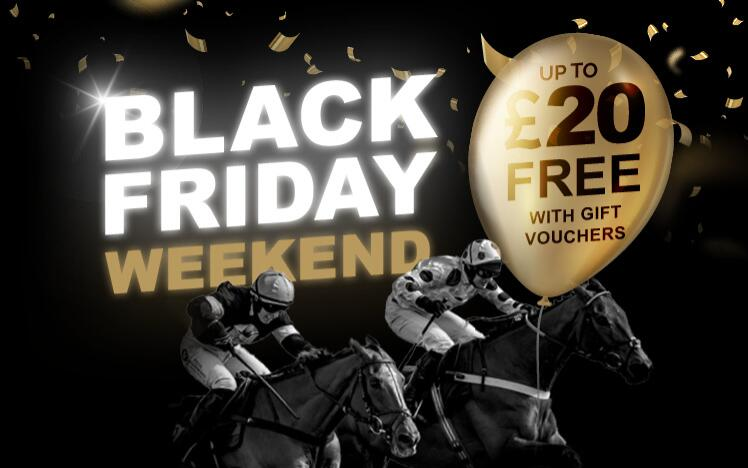 Treat someone with black friday gift voucher to enjoy live horse racing at Windsor Racecourse. A unique gift for Christmas