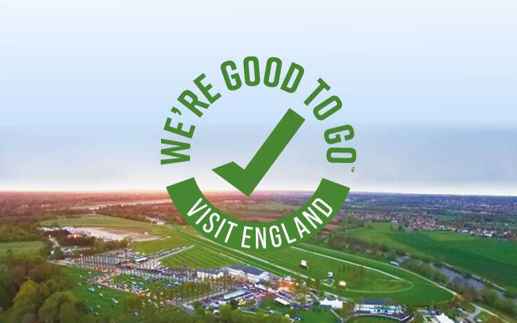 Windsor Racecourse has successfully completed Visit England's UK-wide industry 'We're Good To Go' accreditation mark