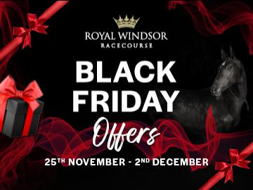 Royal Windsor Racecourse Black Friday Offers 2019